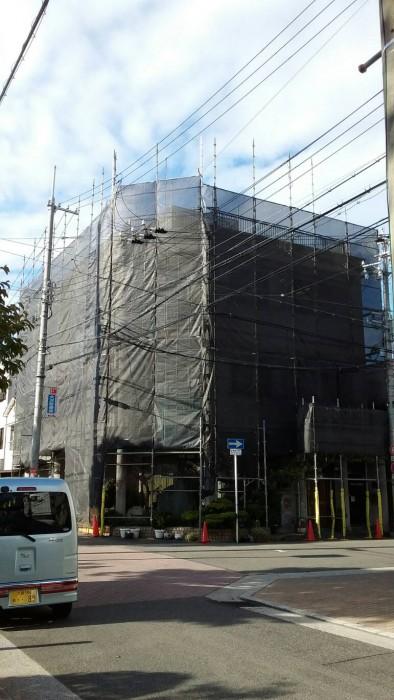 大阪市港区にて着工2