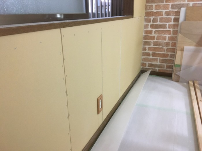 水漏れ内装改修工事6